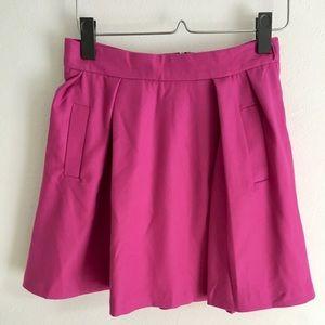 Short Lined Pink Skirt